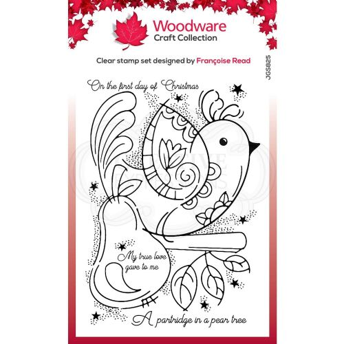 Partridge Woodware Clear Stamp (FRS825)